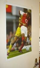 Thierry Henry Back heel Famous goal Poster Arsenal NEW