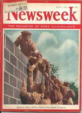 newsweek   JAPANESE  ARMY  ASIATIC   JUNE 1  1942