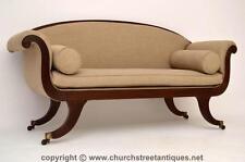 Mahogany Regency Antique Sofas & Chaises