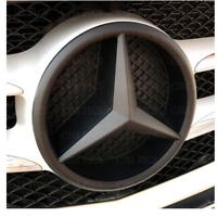 Mercedes Matte Black Front Grille Star Badge Cover A C GLA CLA ML CLS E Class MT