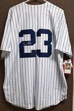 New York Yankees Don Mattingly Signed Jersey COA 1