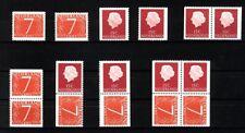 Nederland Stockkaart Combinaties uit Postzegelboekjes 1 Postfris