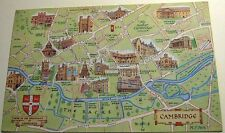 England Cambridge Map 1-28-01-11 J Salmon - posted 1971