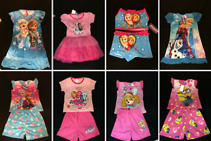 Assorted Summer Clothes for Girls - Sleepwear and Casual wear