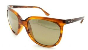 Ray-Ban Sunglasses RB 4126 820/3K 57-19-140 Striped Brown / Brown Silver Mirror