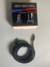 Sony Genuine OEM PlayStation PS2 PS3 Optical Digital Audio Cable 10FT