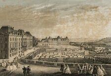 E. ROUARGUE (* 1795), Le Château de Meudon, Château Meudon, 18. jhd., acier clés
