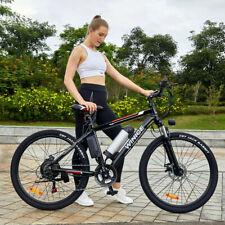 26 Zoll E-bike Elektrofahrrad Mountainbike E-MTB 21 Gäng Shimano Pedelec 30KM/h