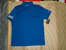 MENS XLARGE ROYAL BLUE NIKE GOLF SAN DIEGO CHARGERS ADORNED POLO SHIRT - NWT