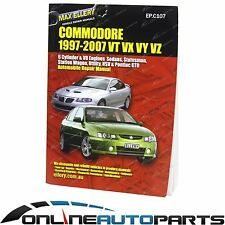 Commodore VT VX VU VY VZ Workshop Car Repair Service Manual Book V6 V8 Ellery