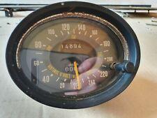 Citroen SM Maserati Merak speedometer