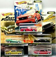 HOT WHEELS 2020 FAST & FURIOUS PREMIUM MOTOR CITY MUSCLE SET OF 5 CAR CHEVY FORD