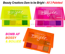 Beauty Creations Dare to be Bright Palettes - 3 Palettes! BOMB AF, BOUJEE, BOSSY