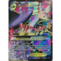 M Latios EX 102/108 Full Art Ultra Rare Pokemon Englisch NM/Mint