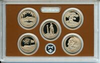 2013 America the Beautiful Quarter Proof Set - National Park Coins ATB - US Mint