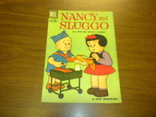NANCY AND SLUGGO #177 Dell Comics 1960 (with 4 pages of PEANUTS)