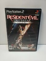 Resident Evil: Outbreak File #2 (Sony PlayStation 2, 2005) No Manual TESTED