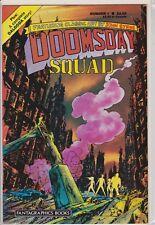 THE DOOMSDAY SQUAD #1 FANTAGRAPHICS COMIC BOOK 1986