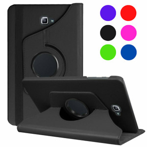 """Leather Case Stand Cover for Samsung Galaxy Tab A6 10.1"""" T580 T585 - (2016)"""