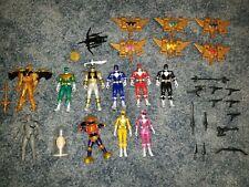 Bandai Might Morphin Power Rangers 2010 Action Figure Lot Zordon, Alpha, Goldar