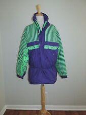 Vtg White Stag Unisex Size Xs Purple & Green Retro Ski Snowboard Anorak Jacket