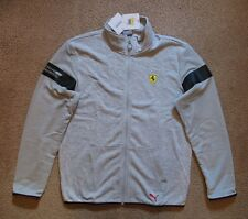 Puma Ferrari jacket New Medium Nwt tags gray Rare! $100