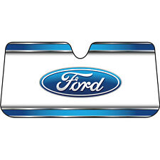 Ford Elite Auto Sunshade Front Window-Reversible Universal Fit Official Licensed