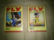Las aventura de Fly. Manga. Riku Sanjo, Koji Inada. Números 1 al 9.