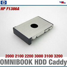 HP Omnibook Notebook 2100 2200 3100 3200 disques durs HDD CADDY Cadre f1386a