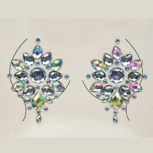Jeweled Temporary Breast Pasties Sticker