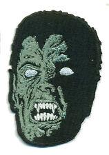 Vampire IRON-ON Patch Monster Horror Punk Spook Show Dracula Curio Shrunken Head