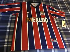 Chivas De Guadalajara Nike New W/Tags Large Retro Jersey Mexico Futbol