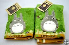 My Neighbor Totoro Face & Hand Towel SET Cotton 100% 100317 Studio Ghibli Japan