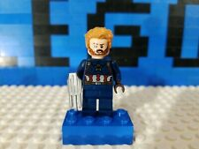 Lego Marvel Captain America Minifigure Sh495