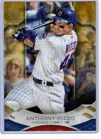 Anthony Rizzo 2019 Topps Tribute 5x7 Gold #78 /10 Cubs