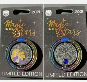 Disney Pin Magic in the Stars LE 4000 Princess Aurora Sleeping Beauty