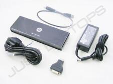HP EliteBook 820 G2 USB 2.0 Docking Station Port Replicator w/ HDMI AC Adapter
