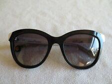 079bb5fd9d Carolina Herrera black & white frame sunglasses.