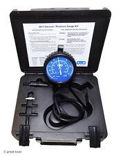 OTC TOOLS VACUUM / PRESSURE GAUGE KIT – automotive diagnostic tool – fuel psi