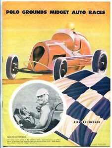 Polo Grounds Midget Auto Race Program June 1948 ARDC