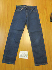 Vint levi's 505 blue regular fit  Ireg made in USA tag 35x33 Mea34x32 11056R