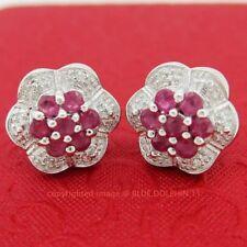 Butterfly Natural Ruby Fine Earrings