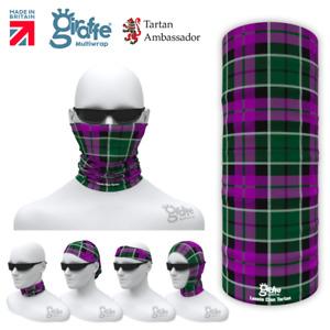 Lennie Clan Scottish Tartan Multifunctional Headwear Neckwarmer Bandana