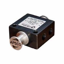 APSCO - 4 Way 2 Position Single Spool Tailgate Air Valve Push / Pull