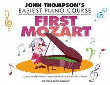 First Mozart John Thompson's Easiest Piano Course Book NEW 000171851