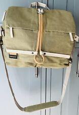 canvas camera shoulder messenger bag