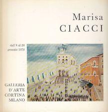 CIACCI Marisa - Marisa Ciacci