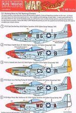 KIT-mondo 1/48 P-51B/C/D Mustang American Nose Art # 48029