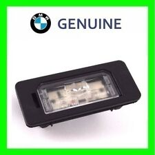 GENUINE NEW OEM BMW 1 3 5 Series E88 E82 E90 E91 LED License Plate Light LH=RH