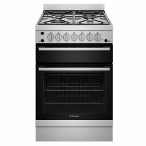 Westinghouse 60cm Freestanding Natural Gas Oven/Stove Model WFG612SCNG